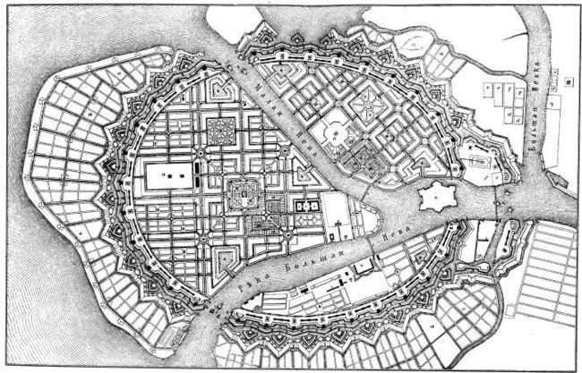 Планы Городов