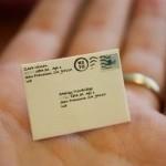 Самая маленькая почта в мире.